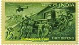 ARTILLERY AND HELICOPTER 0468 Indian Post