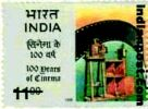 100 YEARS OF INDAIN CINEMA (SE-TENANT) 1619 Indian Post